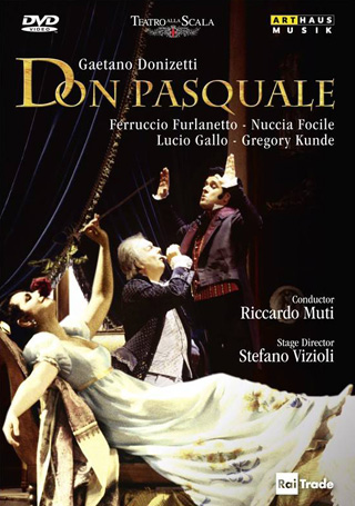 Don Pasquale au Teatro alla Scala, en 1994, dirigé par Riccardo Muti
