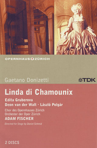 Daniel Schmid met en scène Linda di Chamonix à Zurich, en septembre 1996