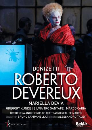 À Madrid en 2015, Bruno Campanella joue Roberto Devereux (1837)