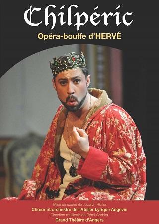 Chilpéric (1868), un opéra-bouffe d'Hervé, par l'Atelier Lyrique Angevin