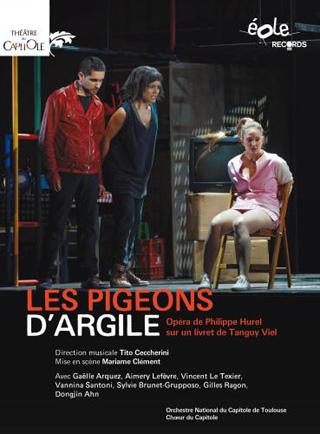 Tito Ceccherini joue Les pigeons d'argile (2014), un opéra de Philippe Hurel