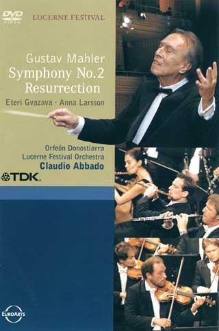 Claudio Abbado et l'Orchestre du festival de Lucerne