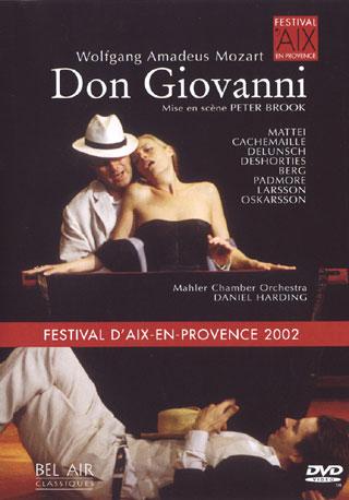 production signée Peter Brook, filmée à Aix-en-Provence en 2002