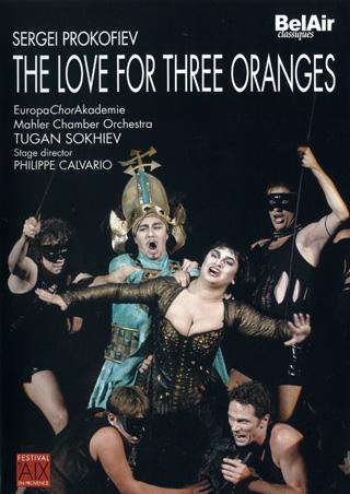 L'amour des trois oranges, opéra de Prokofiev