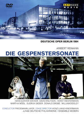 Friedemann Layer joue Die Gespenstersonate (1984), un opéra de Reimann