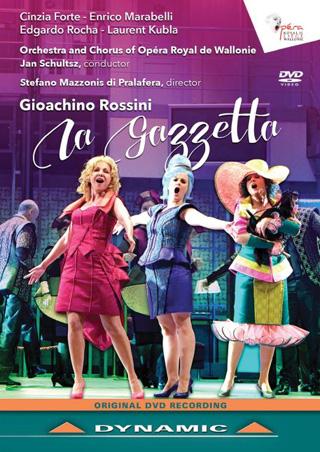 Jan Schultsz joue La gazzetta (1816), opera buffa signé Rossini
