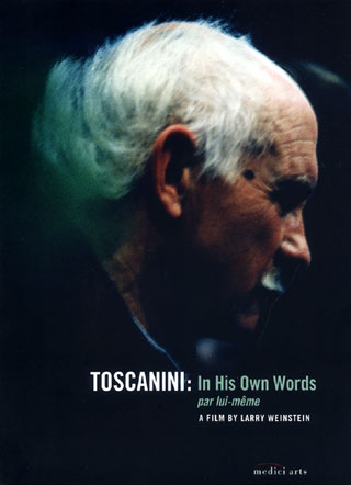 une fiction en forme de portrait d'Arturo Toscanini