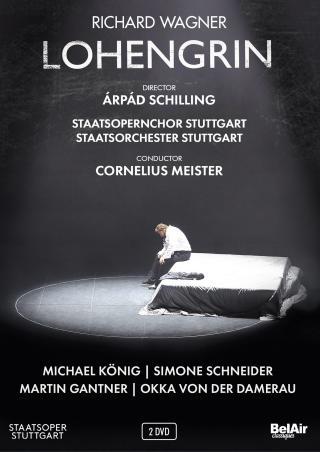 "Cornelius Meister joue ""Lohengrin"" de Richard Wagner à Stuttgart (2018)"