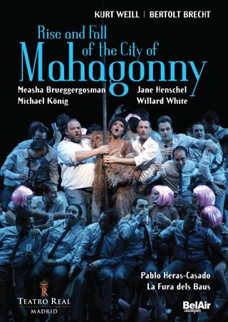 Aufstieg und Fall der Stadt Mahagonny, opéra de Kurt Weill