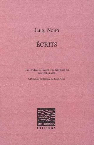 Luigi Nono | Écrits