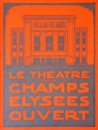 Le Théâtre des Champs-Élysées (1913-2013)