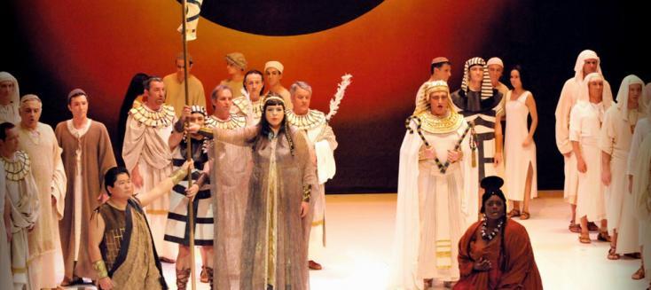 Aida de Giuseppe Verdi en Avignon, mis en scène par Paul-Émile Fourny
