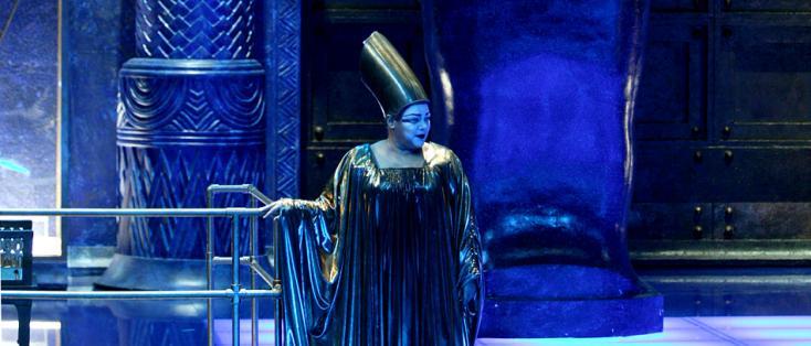 au Capitole de Toulouse, Pet Halmen met en scène Aida de Verdi