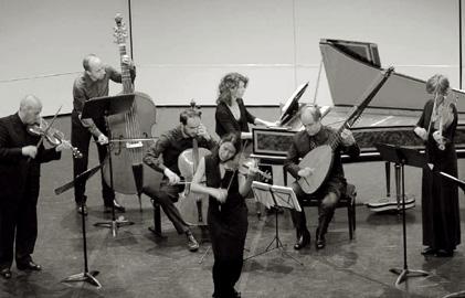 Amandine Bayer et son ensemble baroque Gli Incogniti