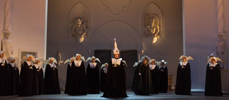 Le domino noir, opéra-comique d'Auber, exhumé par l'Opéra royal de Wallonie