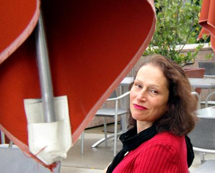 la claviériste Aline Zylberajch (photo de Bertrand Bolognesi, 2005)