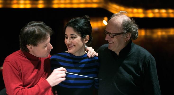 Tito Ceccherini, Marianne Clément et Philippe Hurel : répétitions à Toulouse