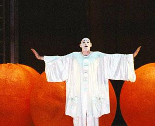Charles Workman dans L'amour des trois oranges (Prokofiev) à l'Opéra Bastille