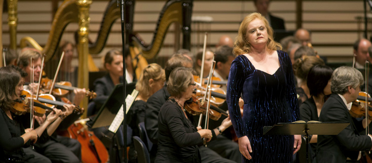 Petra Lang est Brünnhilde au Festival de Lucerne [photo de Priska Ketterer]