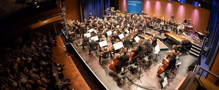 Ouverture des Donaueschinger Musiktage 2018, sous la direction de Pascal Rophé