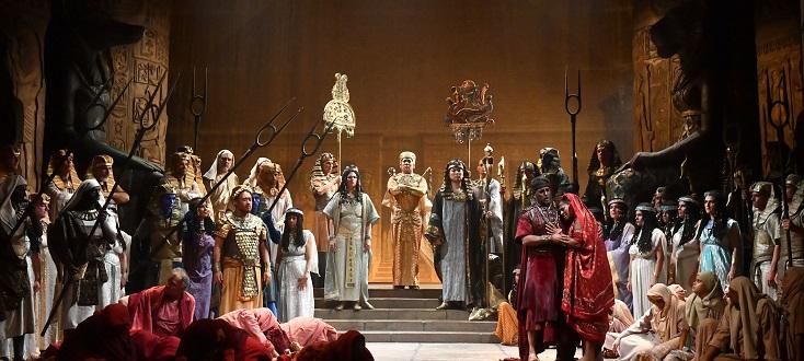 Reprise de l'Aida de Zeffirelli à Busseto, au Festival Verdi de Parme