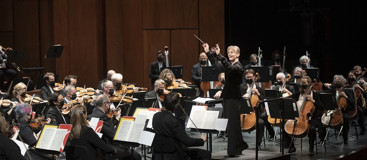 Susanna Mälkki dirige le London Symphony Orchestra à Aix-en-Provence