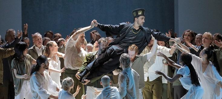 """""""Alceste"""" de Gluck à Munich, dans la production de Sidi Larbi Cherkaoui"""