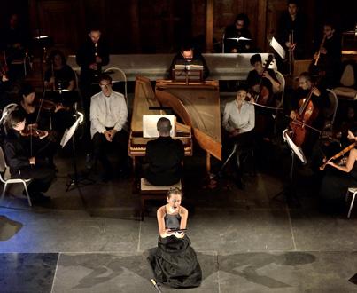 Laurence Cummings et l'Orquestra Barocca Casa da Música jouent Almeida à Lyon