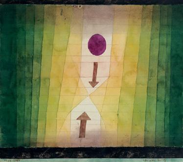 Vor dem Blitz de Paul Klee, 1923, inspire Contretemps à Georges Aperghis (2005)