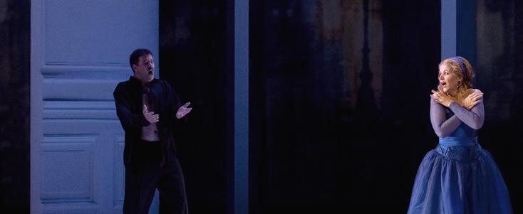 Renée Fleming dans Arabella (Strauss) à l'Opéra Bastille (photo Ian Patrick)