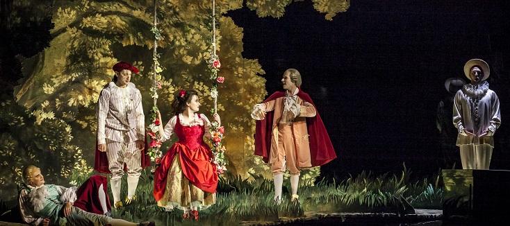 Frank Beermann joue Ariadne auf Naxos (1912), l'opéra de Richard Strauss