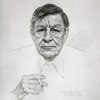le poète Wystan Hugh Auden (1907-1973) a beaucoup inspiré les compositeurs