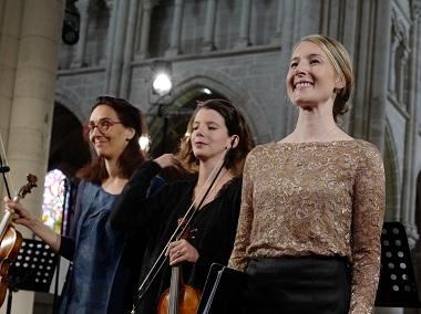 Bach par l'Ensemble Ausonia et le soprano Heather Newhouse