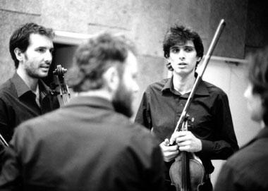 Le Quatuor Béla joue Francesco Filidei et Philippe Leroux
