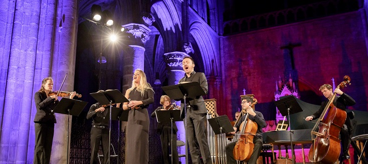 Céline Scheen et Damien Guillon chantent Bach aux Concerts d'automne de Tours