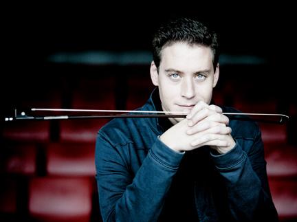 l'excellent Kristóf Baráti joue trois concerti pour violon au MUPA (Budapest)