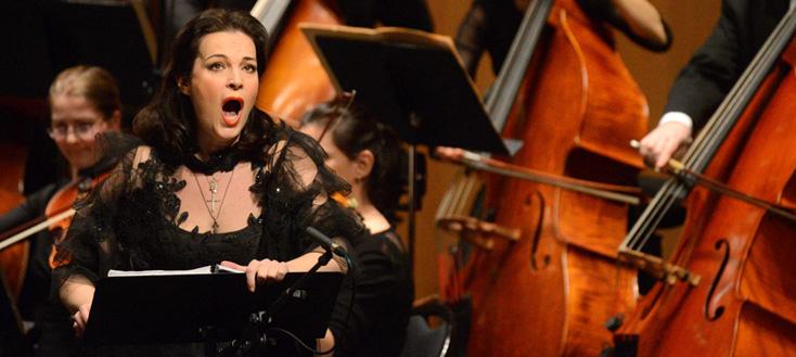 Julia Gertseva dans Les barbares, de Saint-Saëns (version de concert)