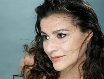le mezzo italien Cecilia Bartoli photographié par Uli Weber