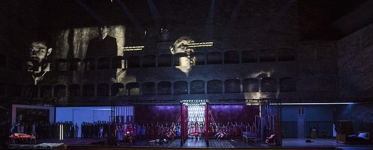 The Bassarids, opéra d'henze mis en scène par Warlikowski à Salzbourg