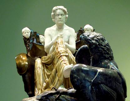 En 1902, Max Klinger sculptait un somptueux monument à la mémoire de Beethoven