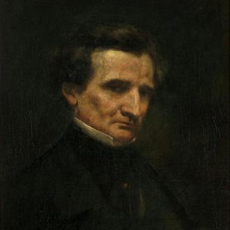 le compositeur Berlioz peint par Courbet en 1850