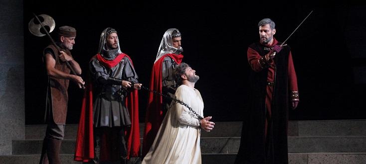 Paolo Arrivabeni joue Simon Boccanegra (1857), opéra de Giuseppe Verdi