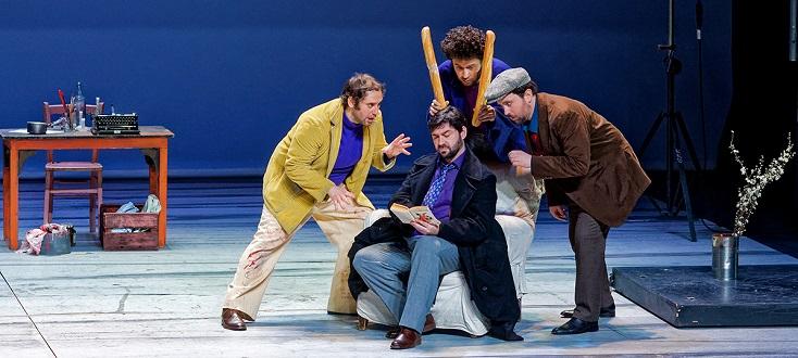 L'Opéra de Massy reprend avec succès La Bohème (Puccini) de Gilles Bouillon