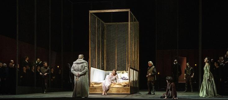 """Anna Bolena"" de Donizetti retrouve la scène de l'Opéra de Rome"