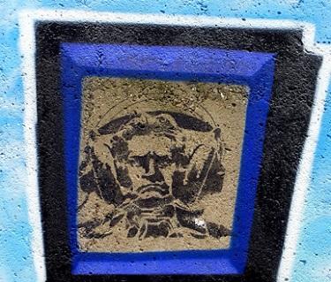 Ludwig van Beethoven, graffiti photographié par Bertrand Bolognesi à Bonn