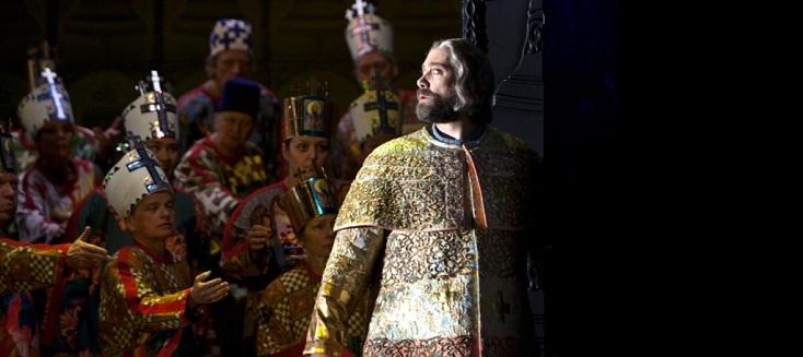 à la Deutsche Oper Berlin, Ain Anger est un superbe Boris Godounov