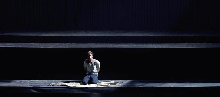 l'excellent Jacques Imbrailo dans le rôle-titre : Billy Budd de Britten à Madrid