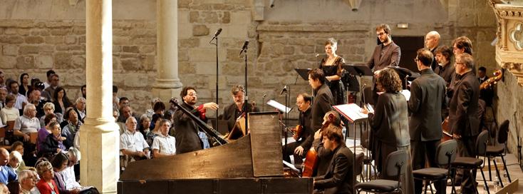 Gianluca Capuano et Il canto di Orfeo jouent Carissimi à l'Abbaye de Royaumont