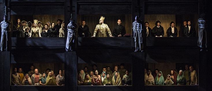 à Lyon, Christophe Honoré met en scène Don Carlos de Verdi, version française