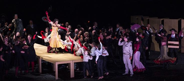 une nouvelle Carmen à Genève ! Opéra des nations, ouverture de la saison 2018/19